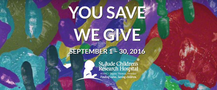 Hodge Floors stands with St. Jude Children's Hospital