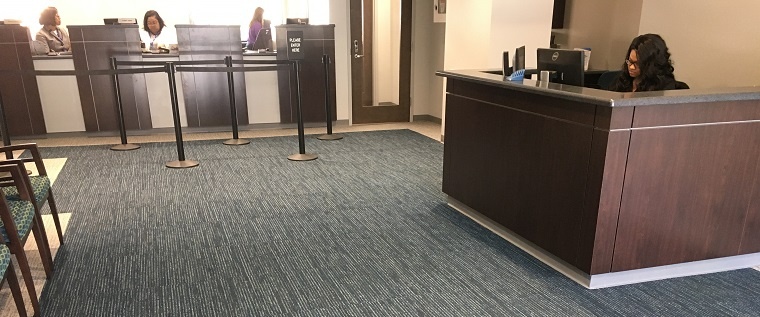 Commercial Floor Project: Spartanburg Water